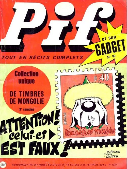 Couverture de Pif (Gadget) -89- Numéro 89