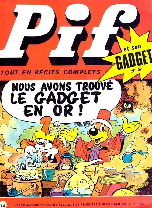 Couverture de Pif (Gadget) -92- Numéro 92