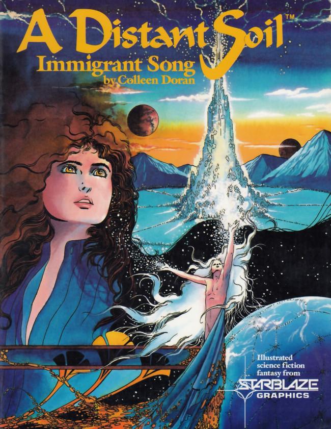 Couverture de A distant soil (1987) -1- Immigrant song