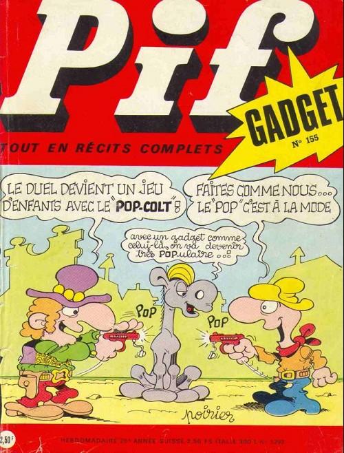 Couverture de Pif (Gadget) -155- Le pop-colt