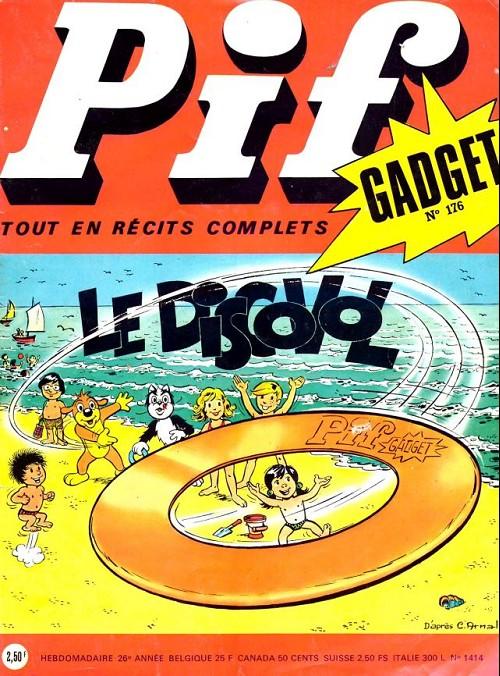 Couverture de Pif (Gadget) -176- Le discovol