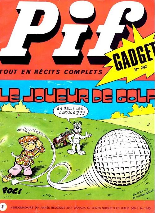 Couverture de Pif (Gadget) -202- Le joueur de golf