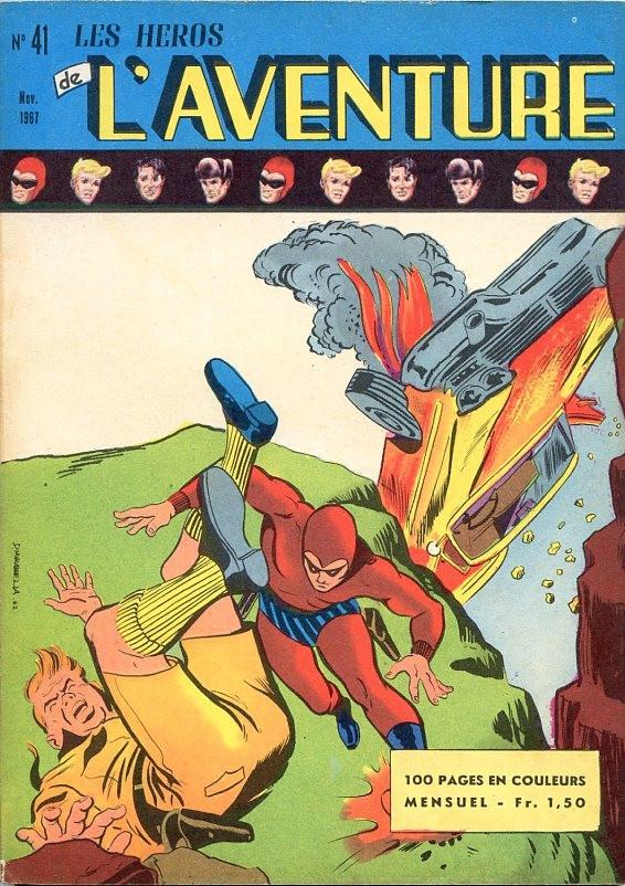 Couverture de Les héros de l'aventure (Classiques de l'aventure, Puis) -41- Le fantôme : La ville des esclaves