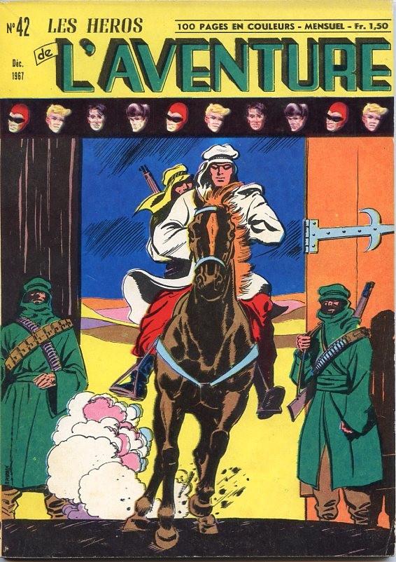 Couverture de Les héros de l'aventure (Classiques de l'aventure, Puis) -42- Le fantôme : Le justicier de Mucar