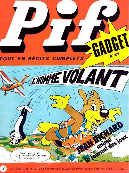 Couverture de Pif (Gadget) -229- L'homme volant
