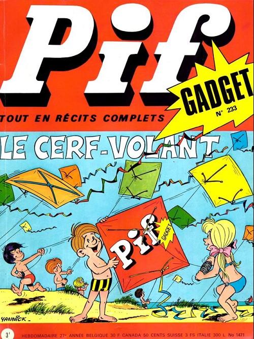 Couverture de Pif (Gadget) -233- Le cerf-volant