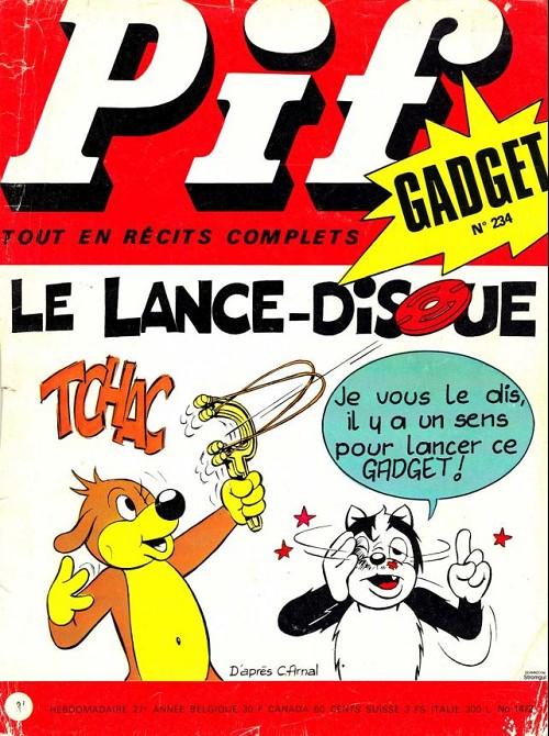 Couverture de Pif (Gadget) -234- Le lance-disque