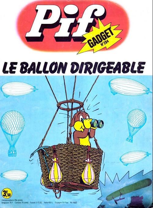ballon dirigeable pif gadget