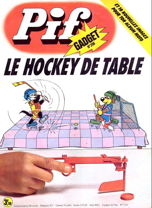 Couverture de Pif (Gadget) -298- Le hockey de table