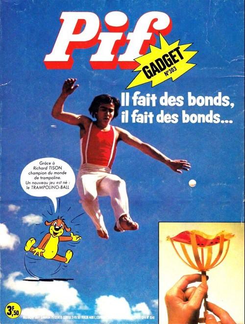 Couverture de Pif (Gadget) -303- Il fait des bonds, il fait des bonds…