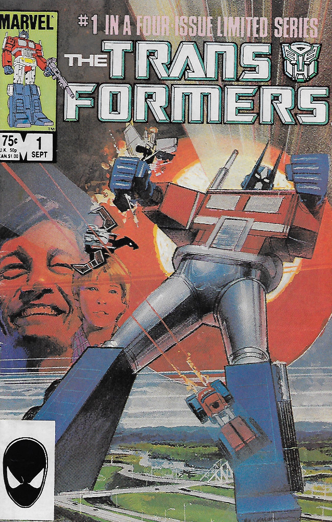 Couverture de Transformers (The) (1984) -1- The Transformers