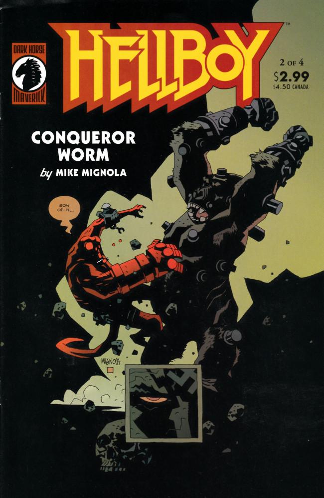 Couverture de Hellboy (1994) -18- Conqueror Worm (2)