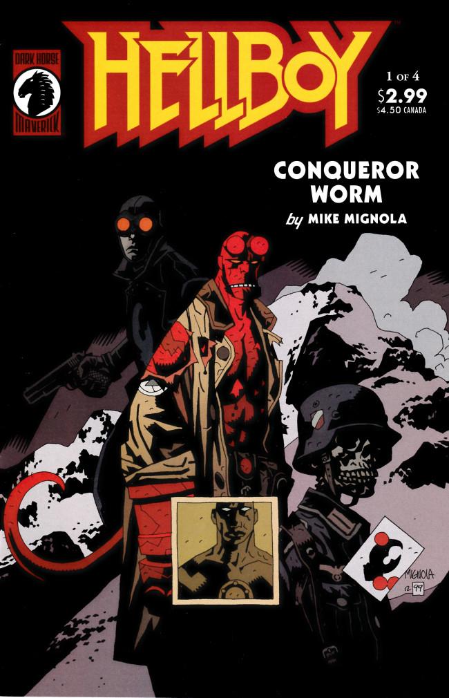 Couverture de Hellboy (1994) -17- Conqueror Worm (1)