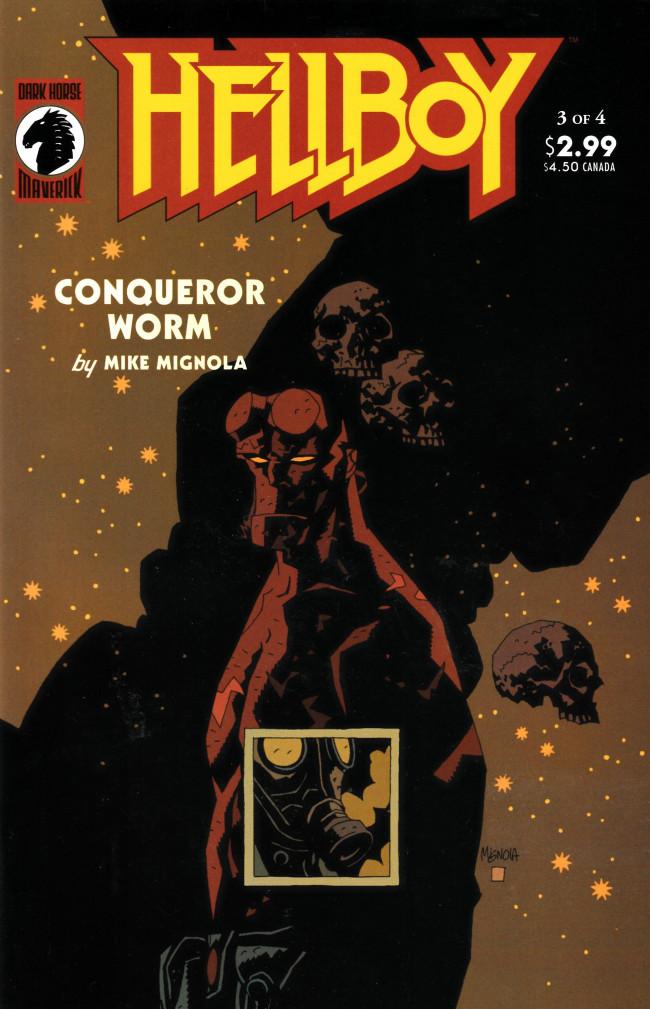 Couverture de Hellboy (1994) -19- Conqueror Worm (3)