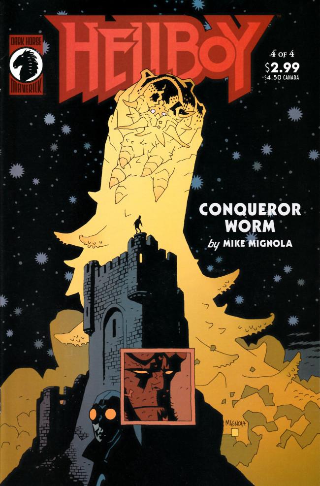 Couverture de Hellboy (1994) -20- Conqueror Worm (4)