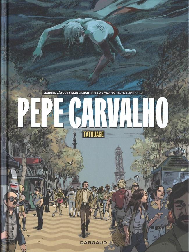 Couverture de Pepe Carvalho -1- Tatouage