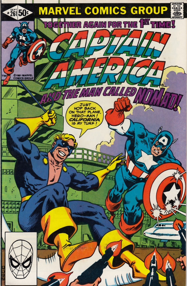 Couverture de Captain America (Marvel comics - 1968) -261- Celluloid heroes