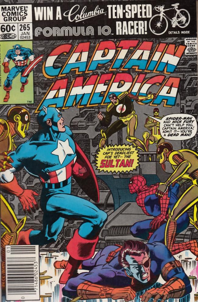 Couverture de Captain America (1968) -265- Thunderhead