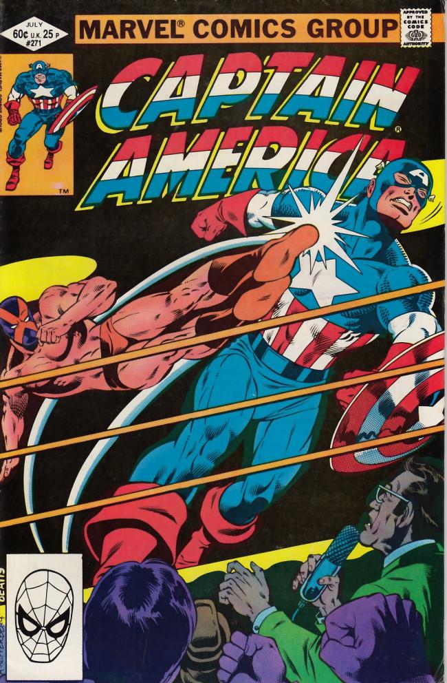 Couverture de Captain America (1968) -271- The mystery of Mr X