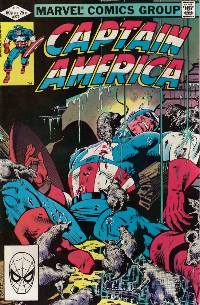 Couverture de Captain America (Marvel comics - 1968) -272- Mean streets