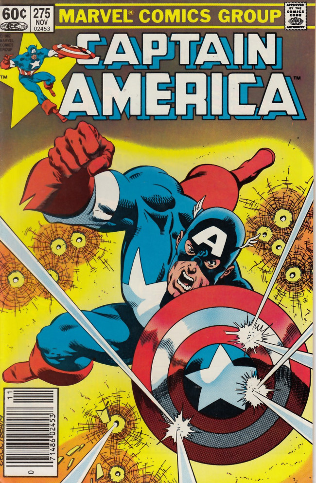 Couverture de Captain America (Marvel comics - 1968) -275- Yesterday's shadows