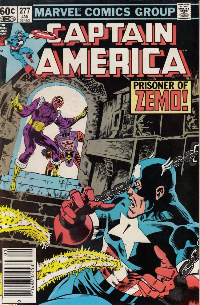 Couverture de Captain America (Marvel comics - 1968) -277- In thy image
