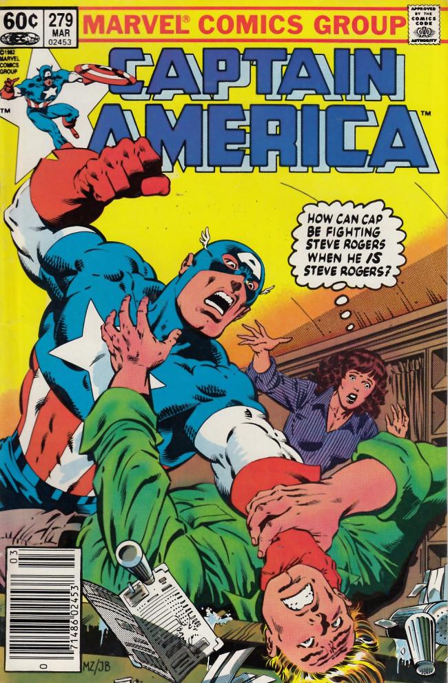 Couverture de Captain America (1968) -279- Of monsters and men