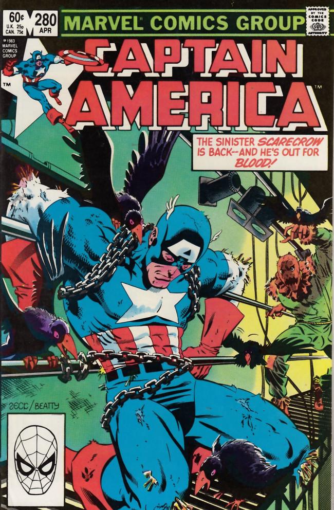 Couverture de Captain America (1968) -280- Sermon of straw
