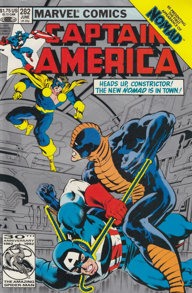 Couverture de Captain America (Marvel comics - 1968) -282a- On your belly you shall crawl, and dust you shall eat
