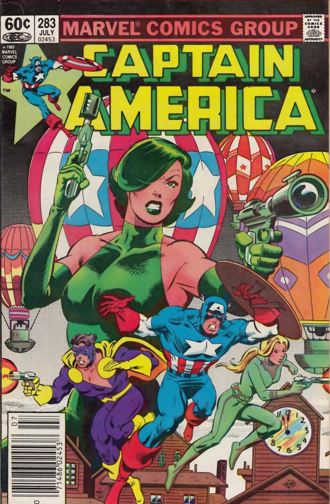 Couverture de Captain America (1968) -283- America the cursed