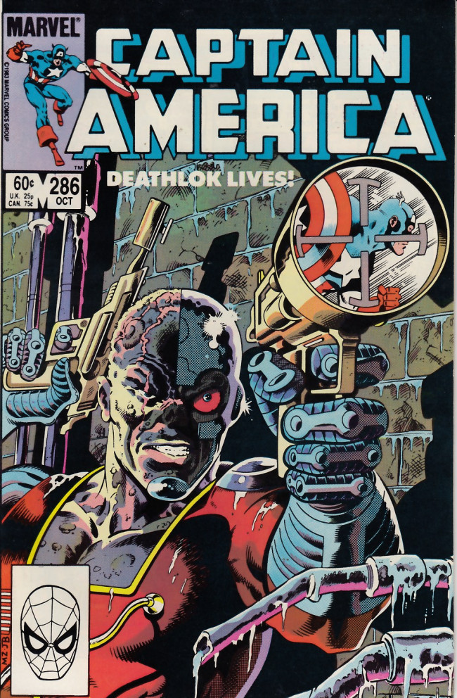 Couverture de Captain America (Marvel comics - 1968) -286- One Man in Search of... Himself!