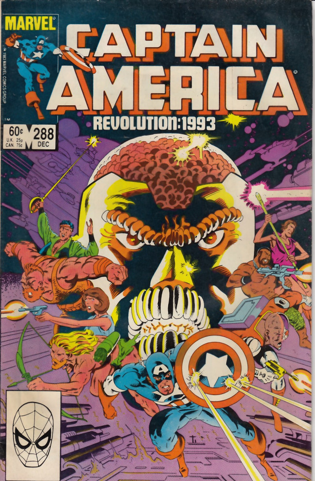 Couverture de Captain America (Marvel comics - 1968) -288- Mazes