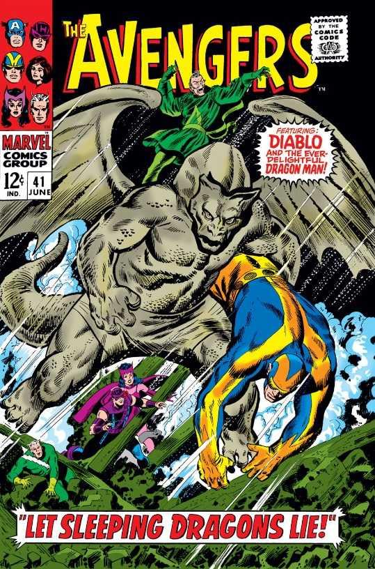 Couverture de Avengers (The) (1963) -41- Let Sleeping Dragons Lie!