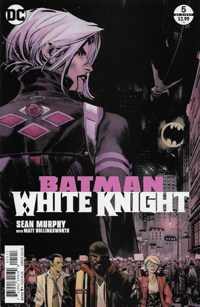 Couverture de Batman: White Knight (2017) -5- Issue 5