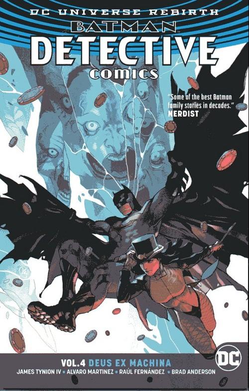 Couverture de Detective Comics (1937), Période Rebirth (2016) -INT04- Vol.4 Deus Ex Machina