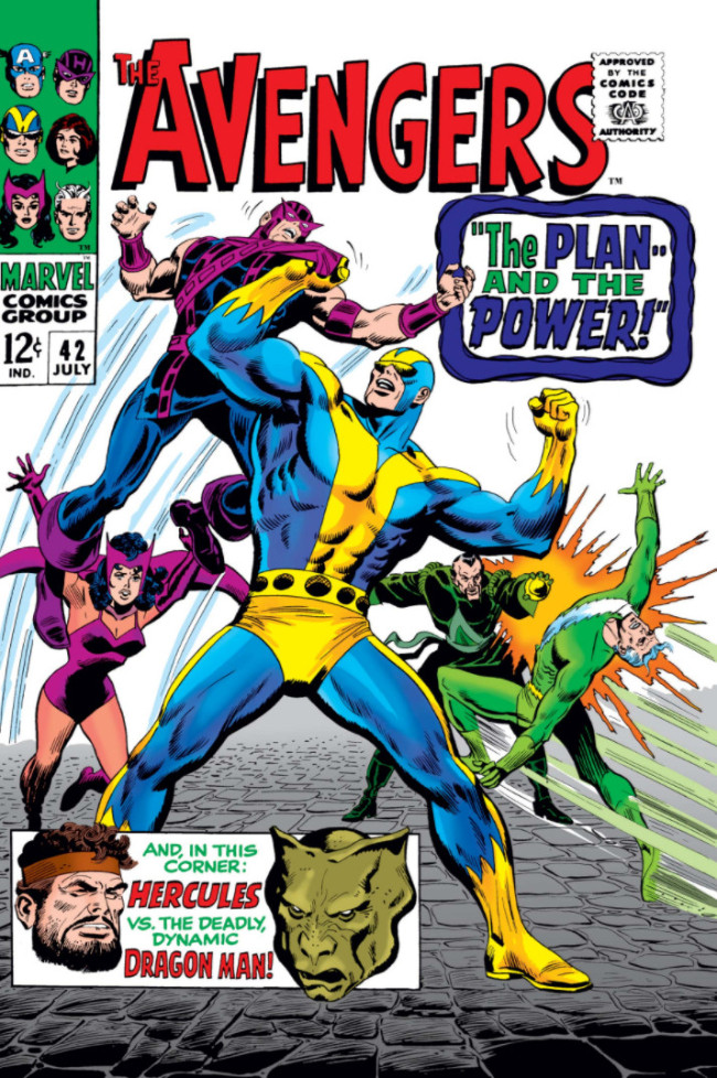 Couverture de Avengers Vol. 1 (Marvel Comics - 1963) -42- The Plan and the Power!