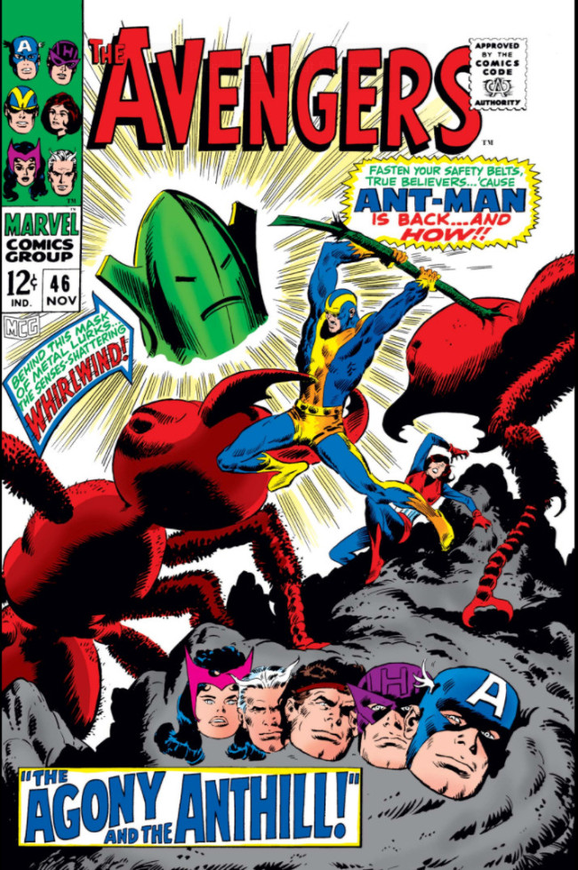 Couverture de Avengers (The) (1963) -46- The Agony and the Anthill!