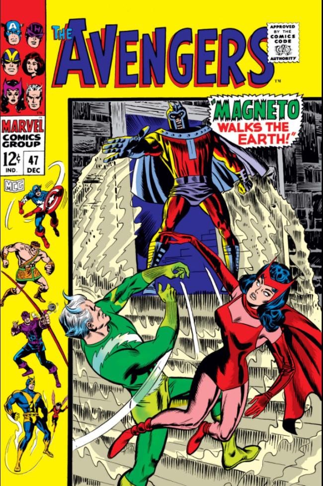 Couverture de Avengers (The) Vol. 1 (Marvel Comics - 1963) -47- Magneto Walks the Earth!