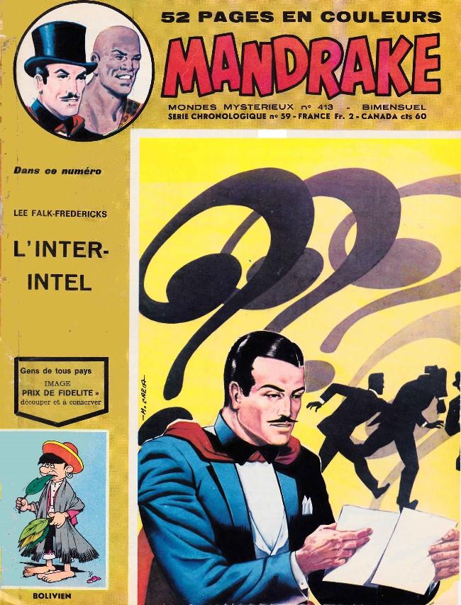 Couverture de Mandrake (1re Série - Remparts) (Mondes Mystérieux - 1) -413- L'inter-intel