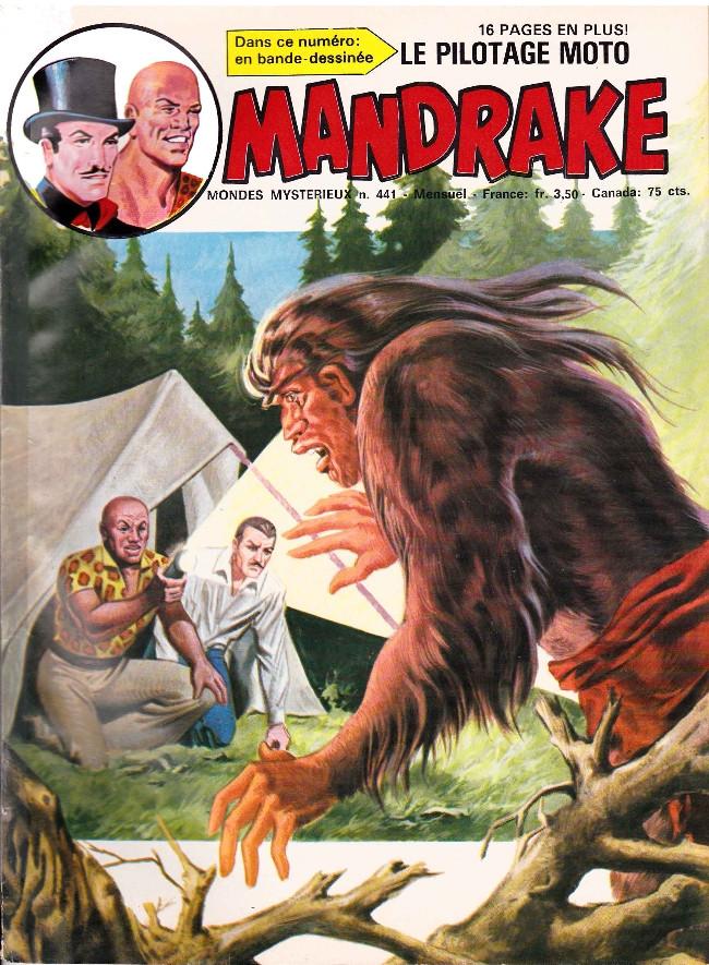 Couverture de Mandrake (1re Série - Remparts) (Mondes Mystérieux - 1) -441- Le mystérieux Grandpied