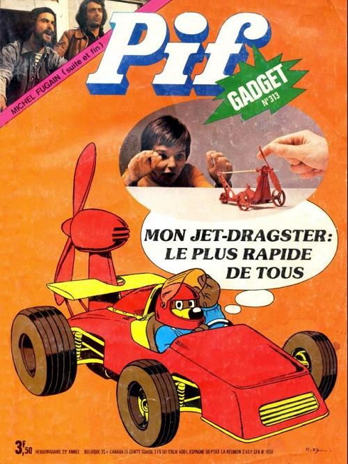 Couverture de Pif (Gadget) -313- Mon jet-dragster