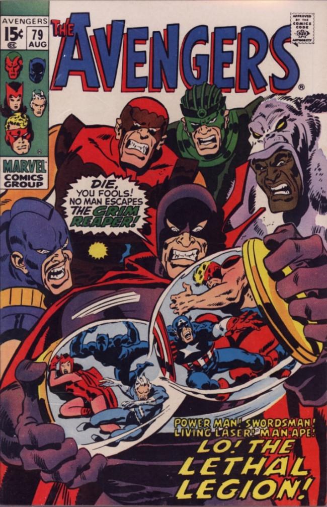 Couverture de Avengers Vol. 1 (Marvel Comics - 1963) -79- Lo! The Lethal Legion!