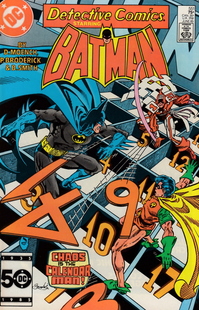Couverture de Detective Comics (1937) -551- The first day of spring