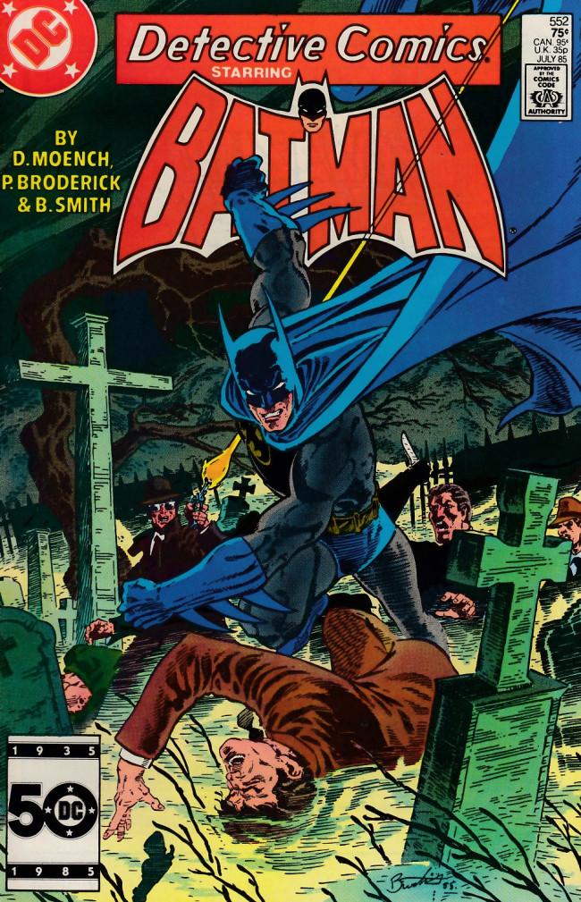 Couverture de Detective Comics (1937) -552- A stump grows in Gotham