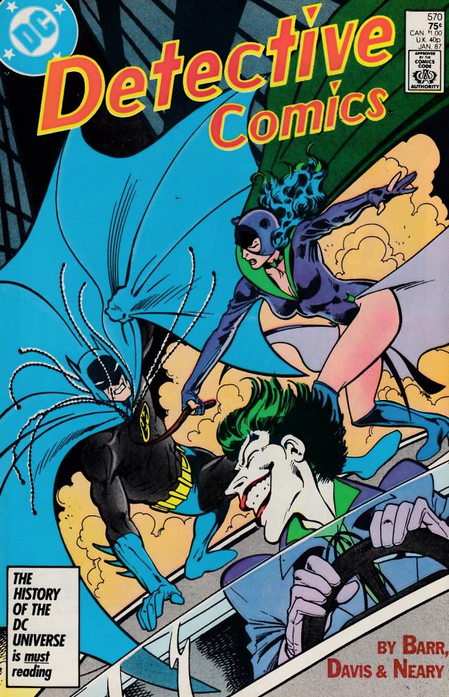 Couverture de Detective Comics (1937) -570- The last laugh