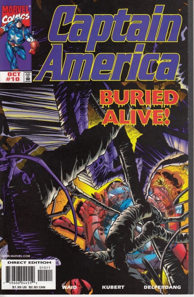 Couverture de Captain America (1998) -10- American nightmare chapter two