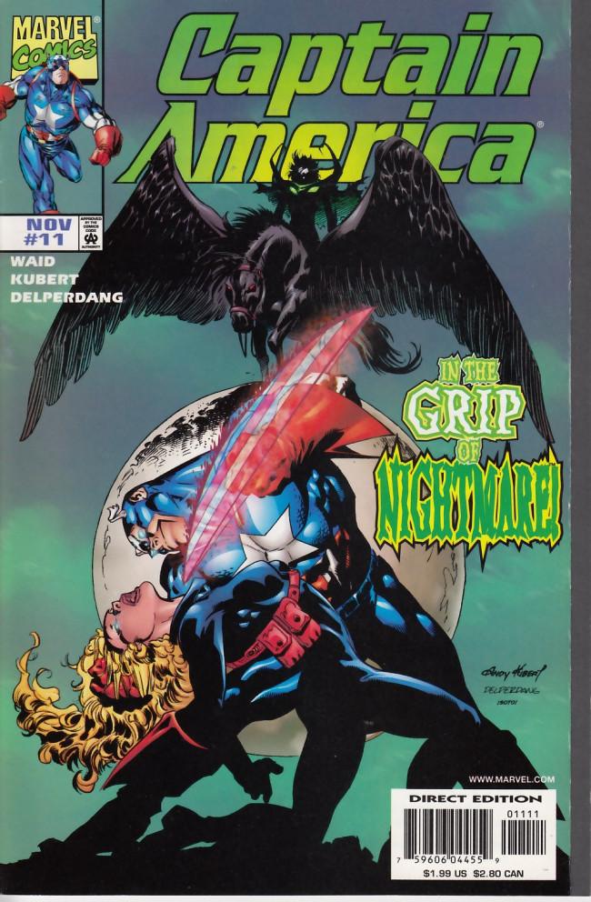 Couverture de Captain America (1998) -11- American nightmare chapter three