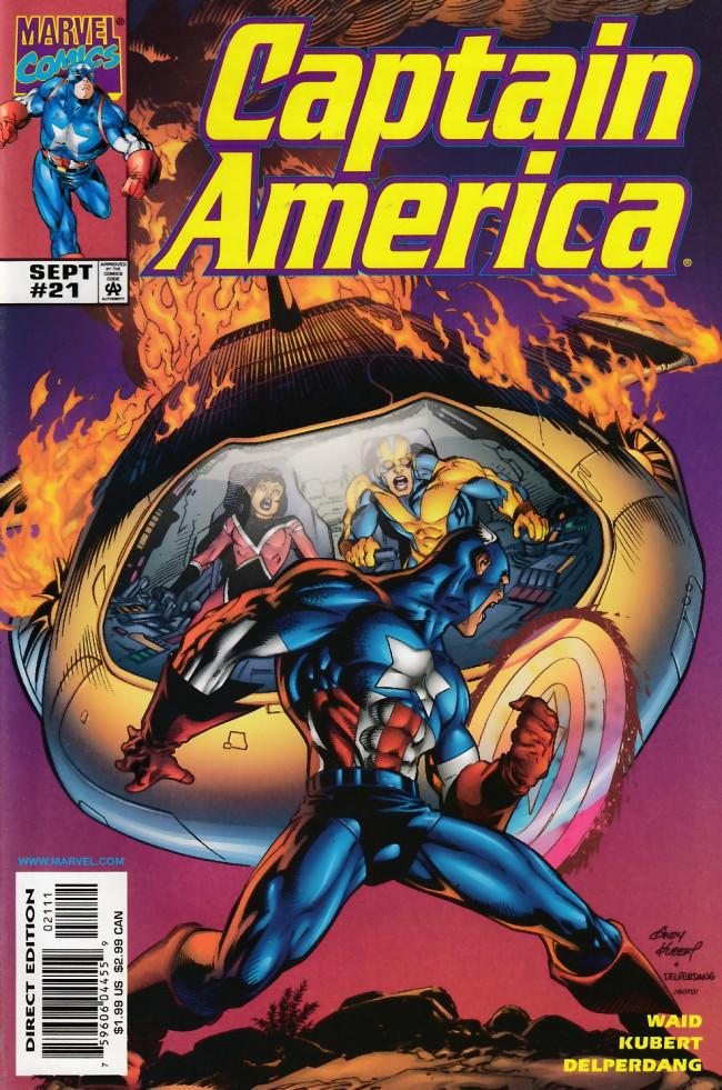 Couverture de Captain America (1998) -21- Soundquake