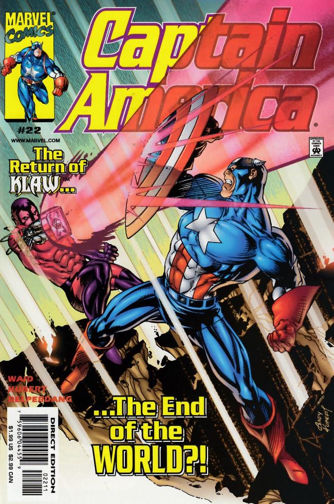 Couverture de Captain America (1998) -22- Sacrifice play