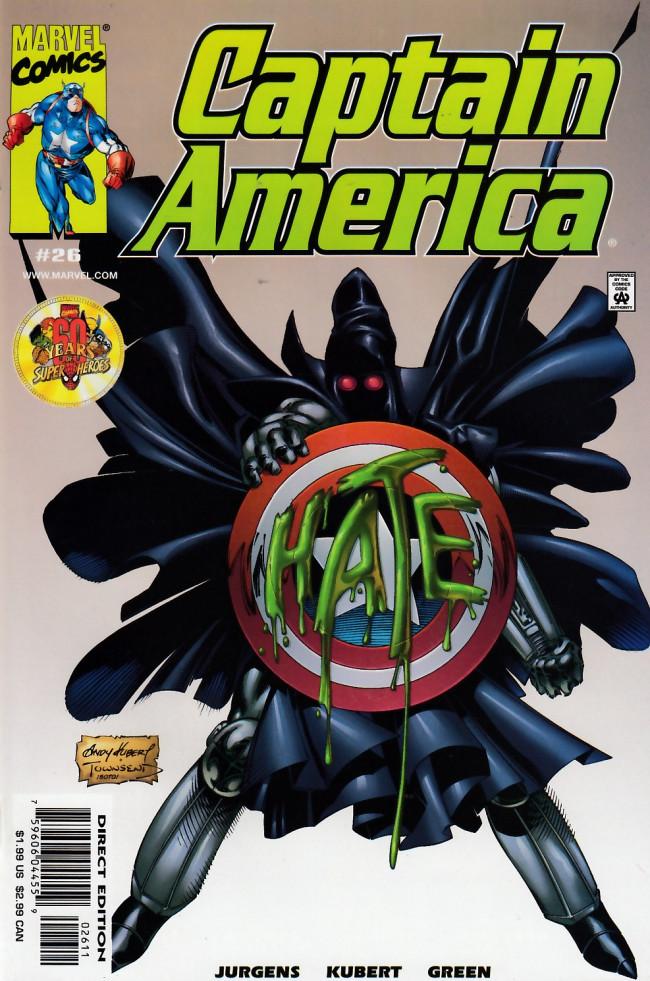 Couverture de Captain America (1998) -26- Twisted tomorrows part 2